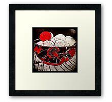 Red Apple  Framed Print