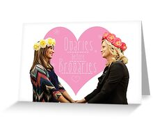 Ovaries Before Brovaries Greeting Card