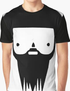Black Beard Graphic T-Shirt