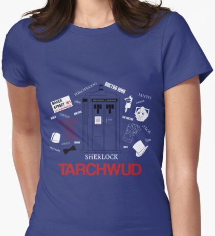 TARCHWUD TEE Womens Fitted T-Shirt