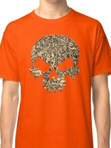 Halloween Swirly Skull Classic T-Shirt