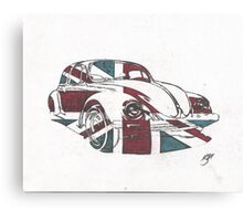 British Bug Canvas Print