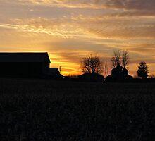 Sundown at the Farm by hubcap