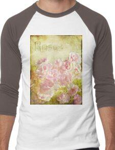 Rose Garden Men's Baseball ¾ T-Shirt