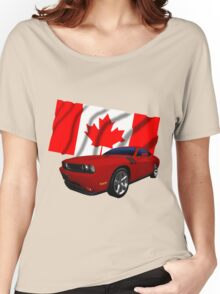 Challenger Canada Women's Relaxed Fit T-Shirt
