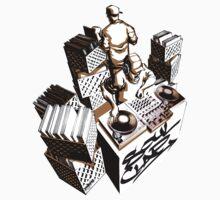 Classic DJ Gig  One Piece - Short Sleeve