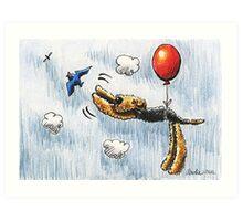 Aire-Balloon Art Print