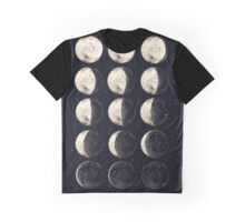 Moon Cycle Graphic T-Shirt