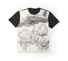 Mario Mushroom Typologies Graphic T-Shirt
