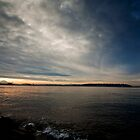 Elliot Bay, Seattle by Zachary Kinion