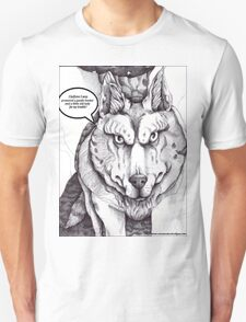 The Big Bad Wolf (with text) T-Shirt