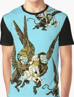 Oz Winged Monkeys - Wizard of Oz Graphic T-Shirt