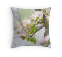 The Tennessee Warbler Stretch Throw Pillow