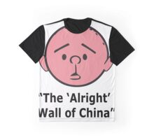 Karl Pilkington - The Alright Wall Of China Graphic T-Shirt