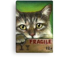 Fragile... Canvas Print