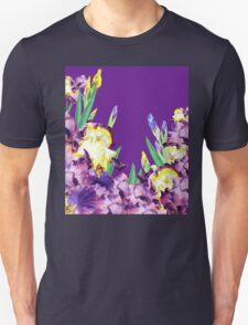 Iris garden Purple Sky T-Shirt