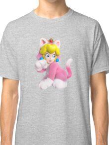 Cat Peach Classic T-Shirt