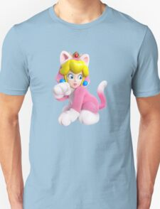 Cat Peach Unisex T-Shirt