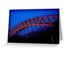 Hellsgate Bridge Greeting Card