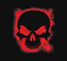 Halloween Spattered Skull Unisex T-Shirt