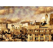 Vintage Empire State Photographic Print