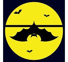 Halloween Batty - Hanging Around Photographic Print