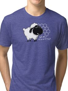 Catan You Give Me Wood? | Settlers of Catan Board Game Geek Sheep Tri-blend T-Shirt