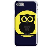 Halloween Shabby the Night Owl iPhone Case/Skin
