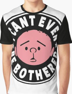 Karl Pilkington - I Cant Even Be Bothered Graphic T-Shirt