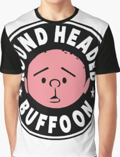 Karl Pilkington - Round Headed Buffoon Graphic T-Shirt