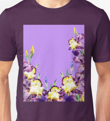 Iris Garden Lilac Skies Unisex T-Shirt