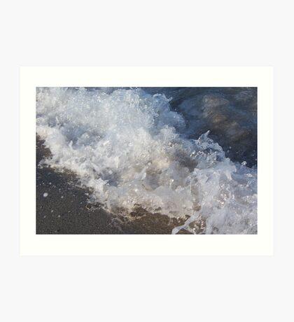 Icey Waters? Art Print
