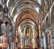 in the church. by jean-jean