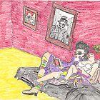 Clownvis & Rosie Honkers by DrewSomervell