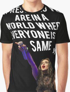Lauren Jauregui Inspirational Quote Graphic T-Shirt