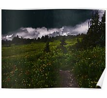 Heading Home Through the Meadow Poster