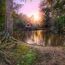 Old Mill & Lake Sunset by Yhun Suarez