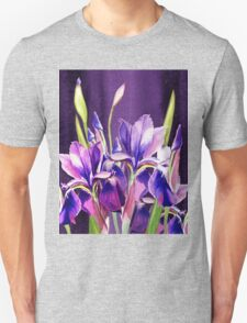 Purple Iris Dance  T-Shirt