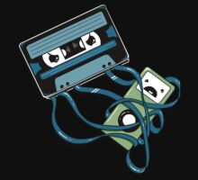 The Comeback | Retro Music Cassette Vs iPod Kids Tee
