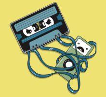 The Comeback | Retro Music Cassette Vs iPod One Piece - Short Sleeve