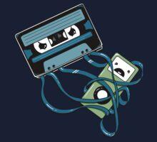The Comeback | Retro Music Cassette Vs iPod Kids Tee