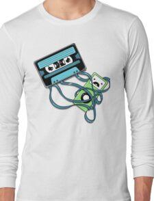 The Comeback   Retro Music Cassette Vs iPod Long Sleeve T-Shirt