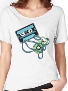 The Comeback | Retro Music Cassette Vs iPod Women's Relaxed Fit T-Shirt