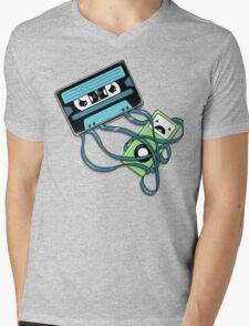 The Comeback | Retro Music Cassette Vs iPod Mens V-Neck T-Shirt