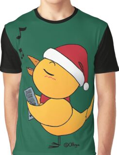 Singing Canary (Christmas) Graphic T-Shirt