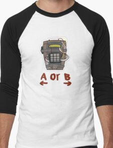 CSGO Bomb Men's Baseball ¾ T-Shirt