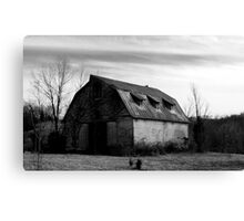 Vinton County Barn Canvas Print