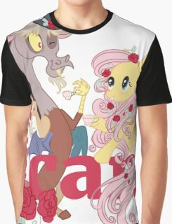 Kindness Can: Fluttershy and Discord Graphic T-Shirt