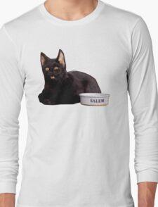 Salem   Steel Blue Long Sleeve T-Shirt