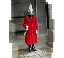 An english guard Photographic Print